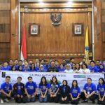 Wagub Cok Ace Paparkan Pengembangan Pariwisata Bali Pada Peserta Global Network Week Universitas Indonesia