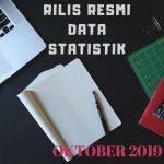 Rilis Resmi Data Statistik Bulan Oktober 2019