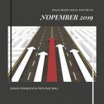 Rilis Resmi Data Statistik Bulan Nopember 2019